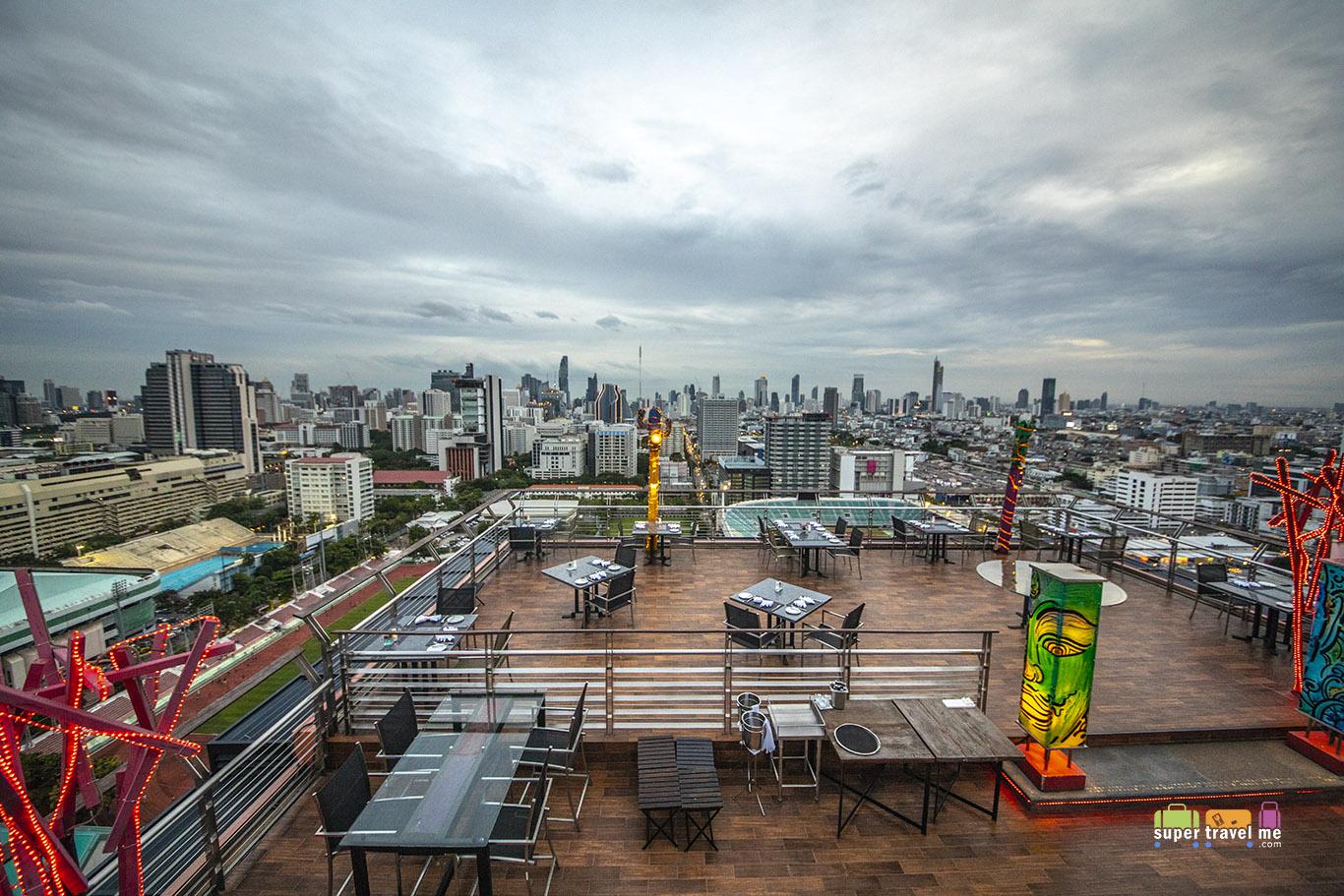 Rooftop Bar at Siam@Siam Design Hotel Bangkok