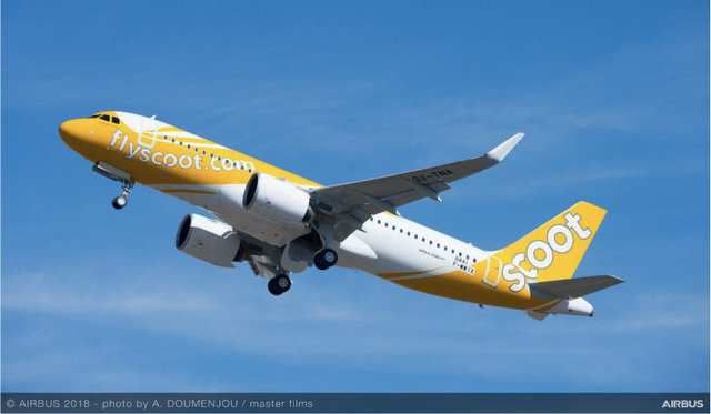 Scoot A320neo (Airbus)