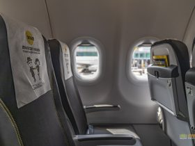 Inside Scoot's first A320neo aircraft 9V-TNA