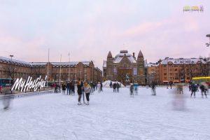 Ice Skating in Helsinki