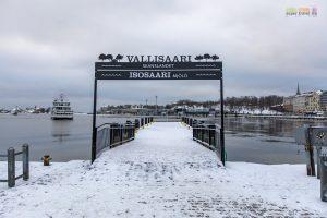 Take a boat to Suomenlinna, Finland