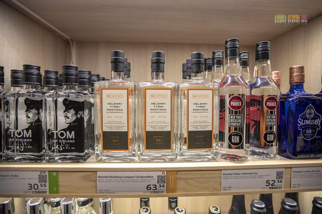 Head to a Liquor Store in Helsinki