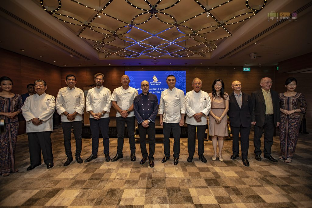 Singapore Airlines' International Culinary Panel at the World Gourmet Forum 2019