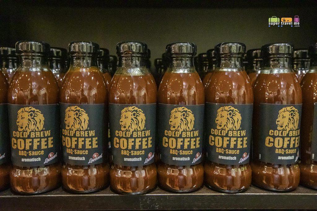 Löwensenf Cold Brew Coffee BBQ Sauce