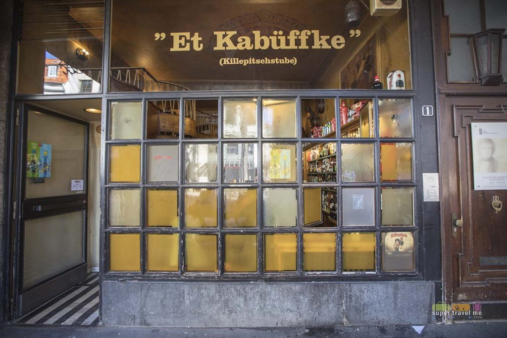 Enjoy Killeptisch cocktails and shots at El Kabuffke in Düsseldorf