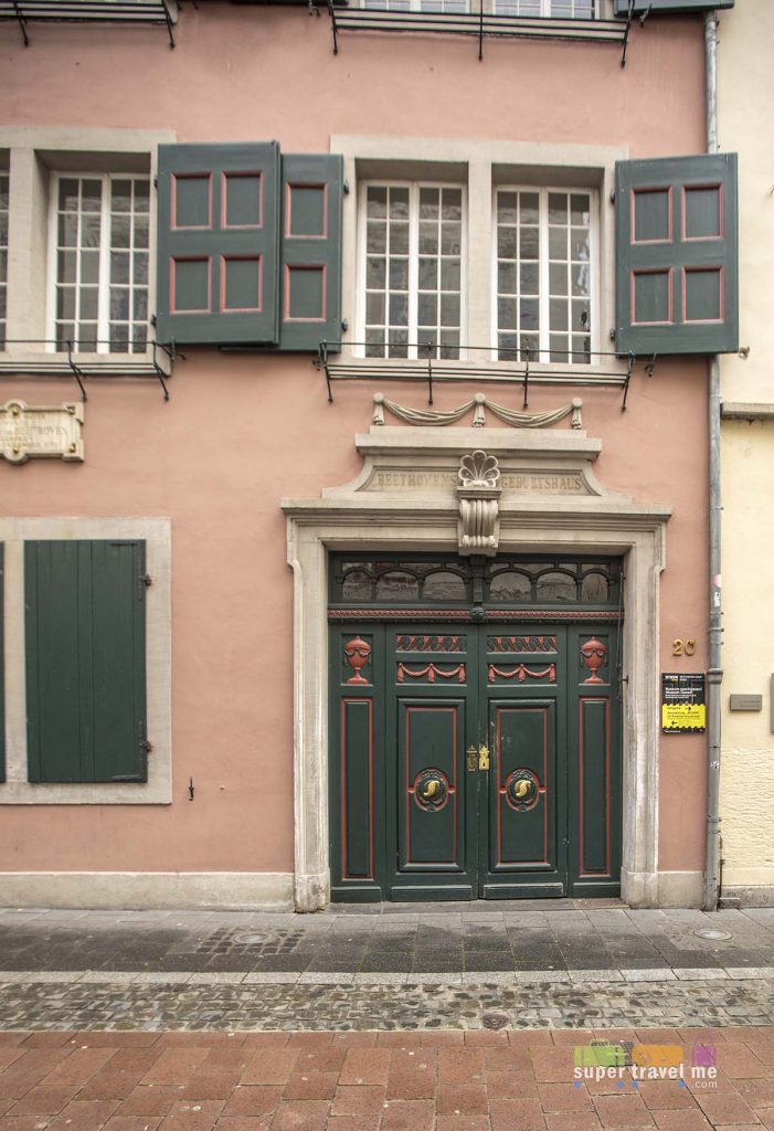Beethoven's birth home in Bonn, Germany. Now a museum.