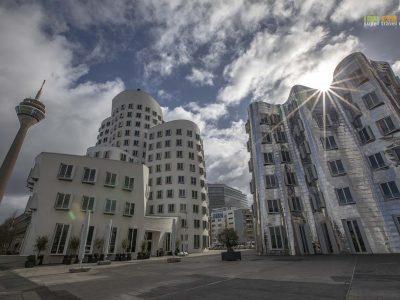 Gehry Buildings in MedienHafen, Düsseldorf