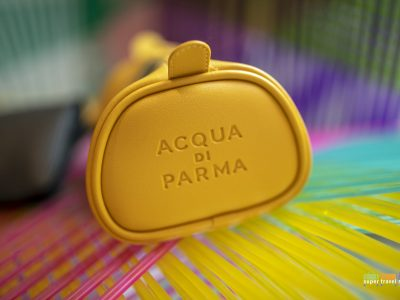 Etihad Airways Acqua Di Parma wash bag for First Class