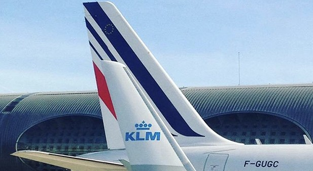 Air France - KLM Group photo