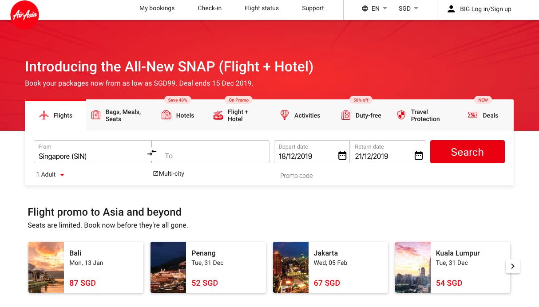 AirAsia-SNAP-Hotels-Flight-deals