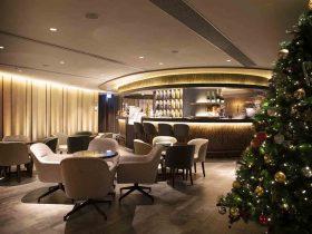 Christmas at Plaza Premium First Hong Kong 2019