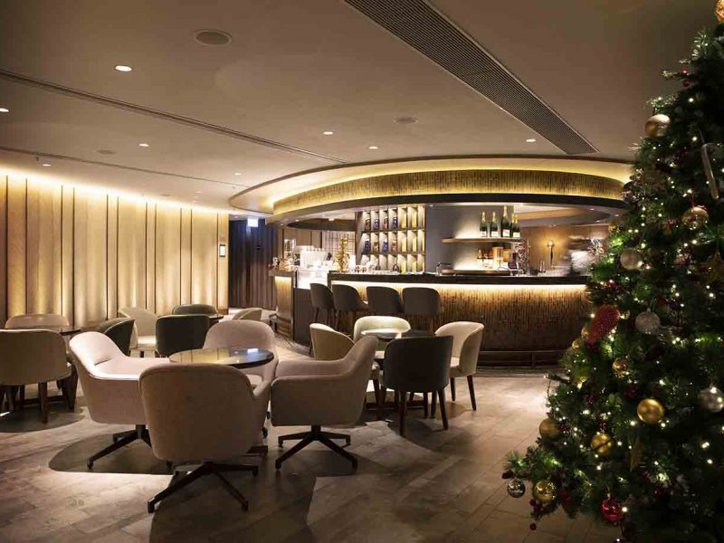 Christmas at Plaza Premium First Hong Kong 2019
