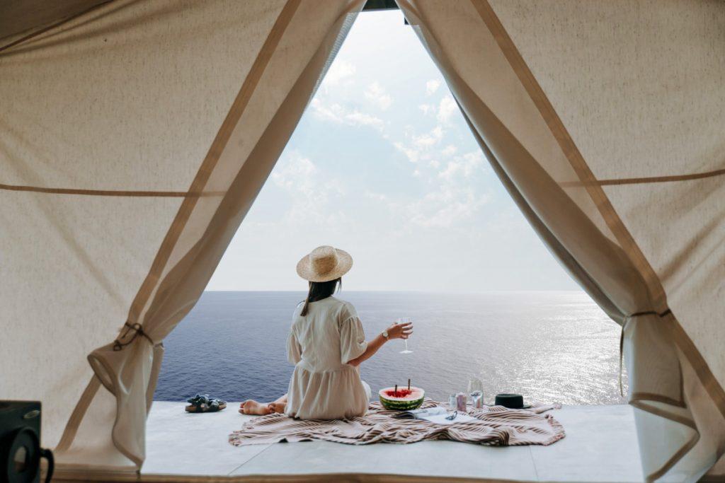Boho Glamping on Explorer Dream (Dream Cruises photo)