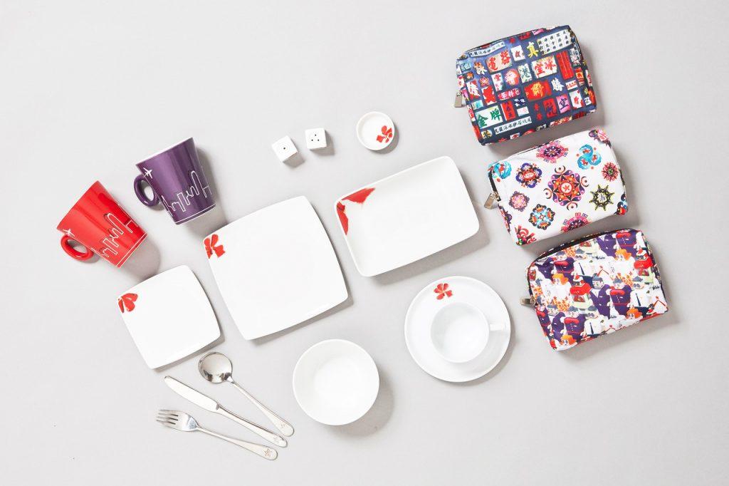 Hong Kong Airlines Crockery and Amenity Kits