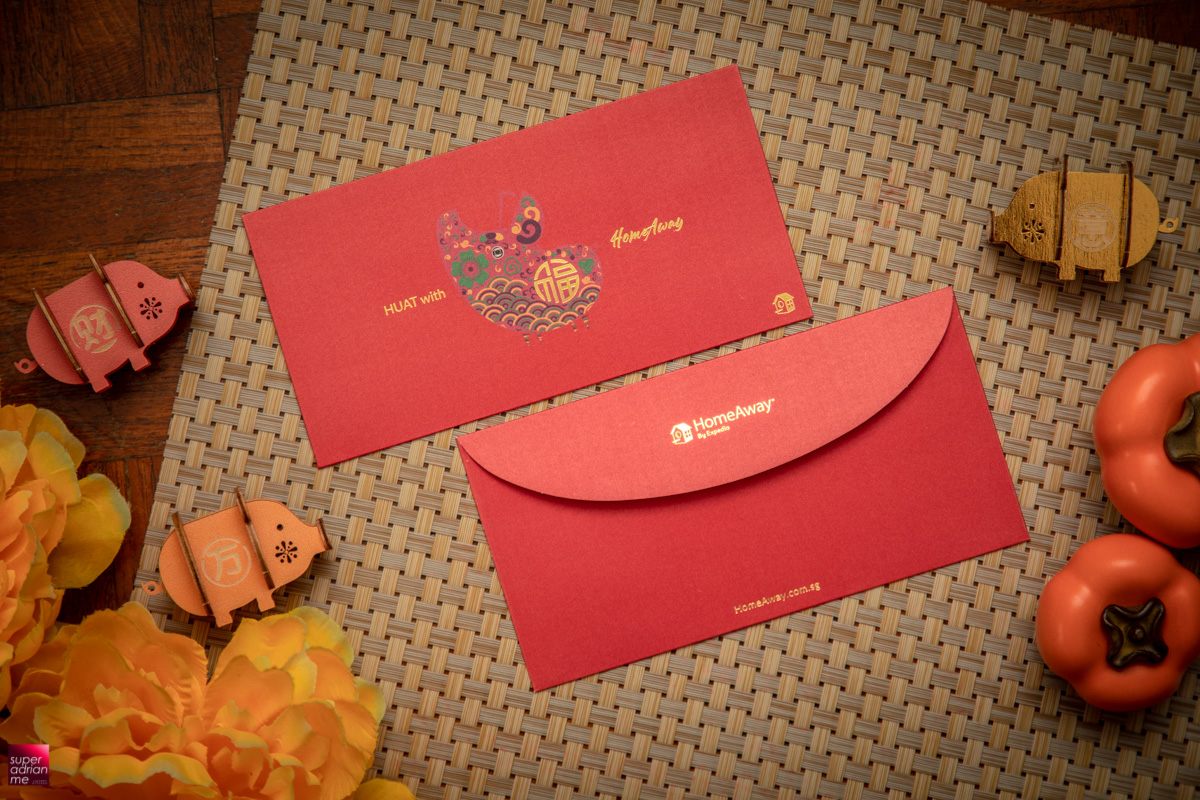 HomeAway Year of the Pig Red Packets