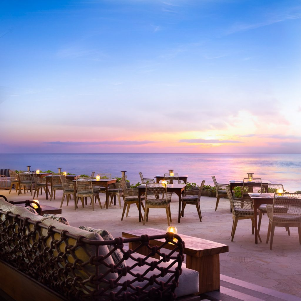 Hilton Bali - The Shore Restaurant & Bar - First Level, Ocean View