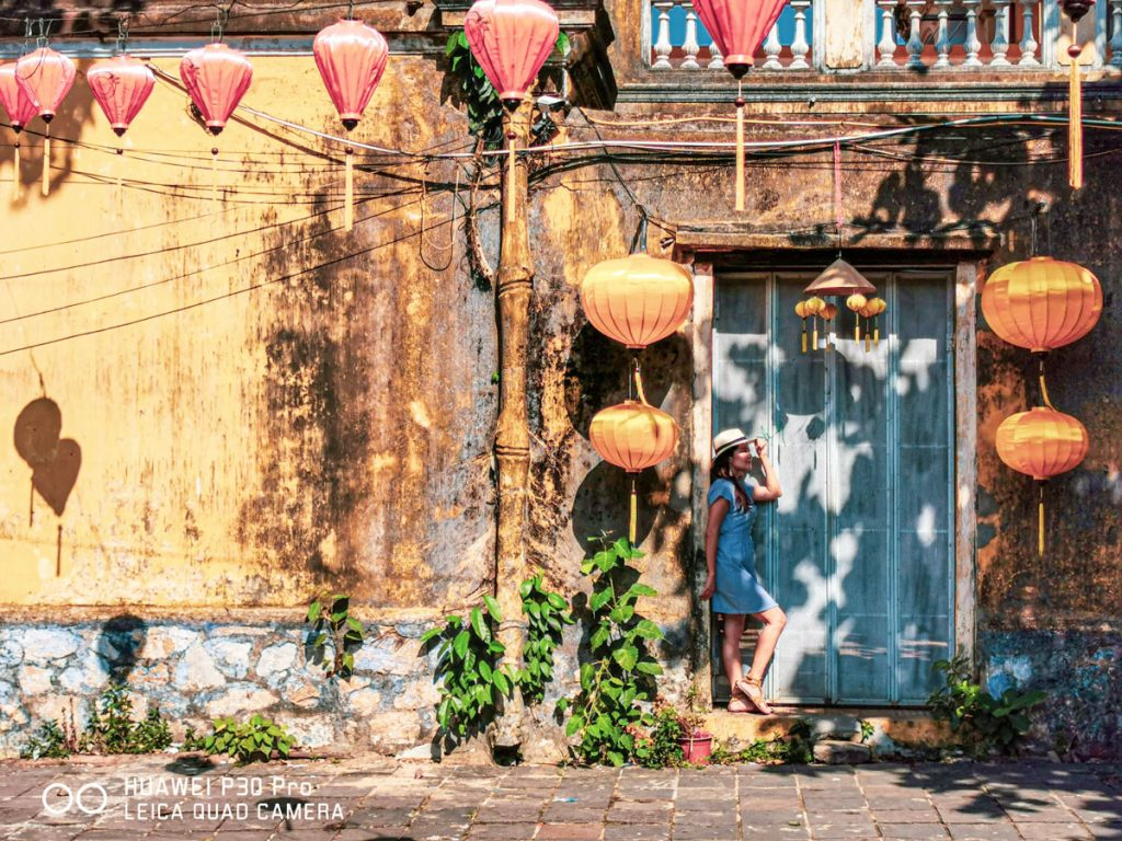 Streets of Hoi An Vietnam silk lanterns photo spot best