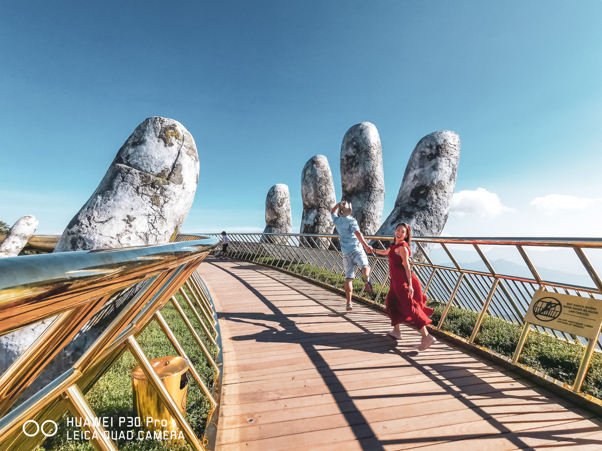 Ba Na Hills Golden Bridge Da Nang best photo spot review