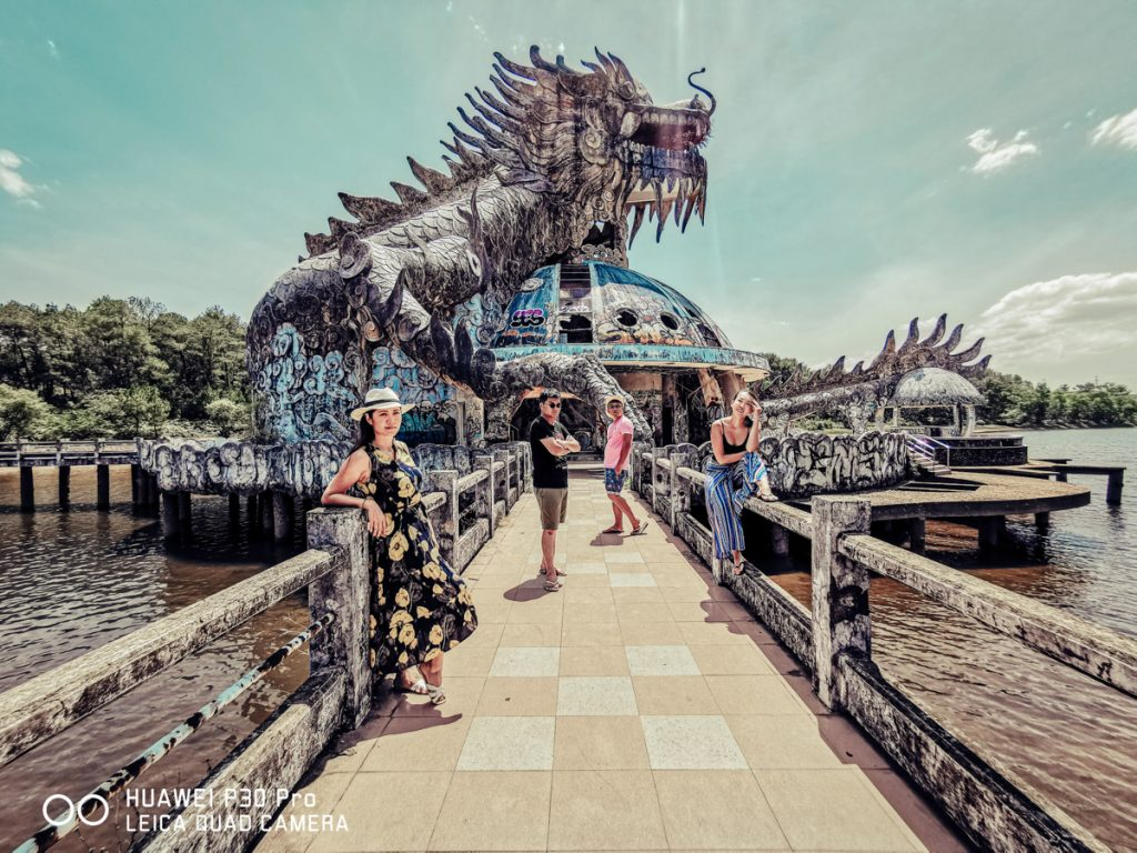 Thuy Tien lake Abandoned Water Park Hue vietnam photo spot best