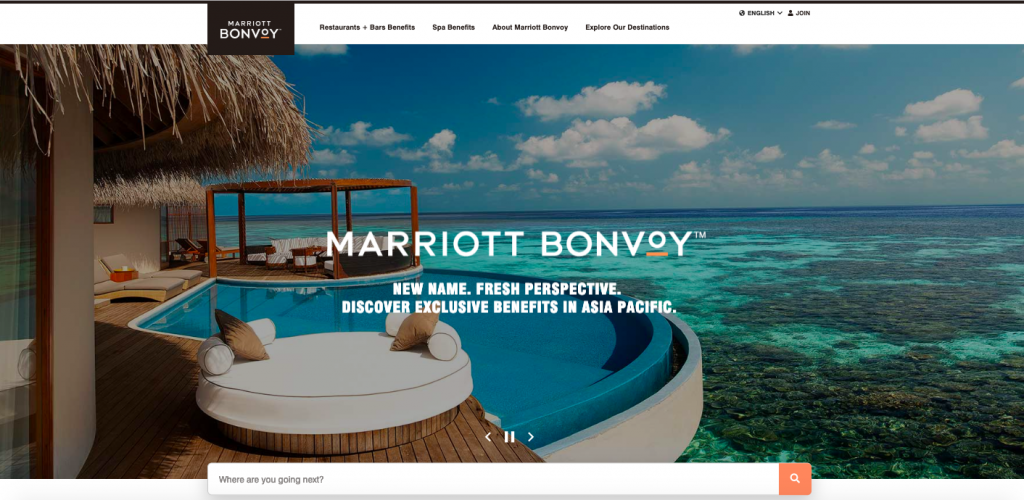 Introducing Marriott Bonvoy Asia