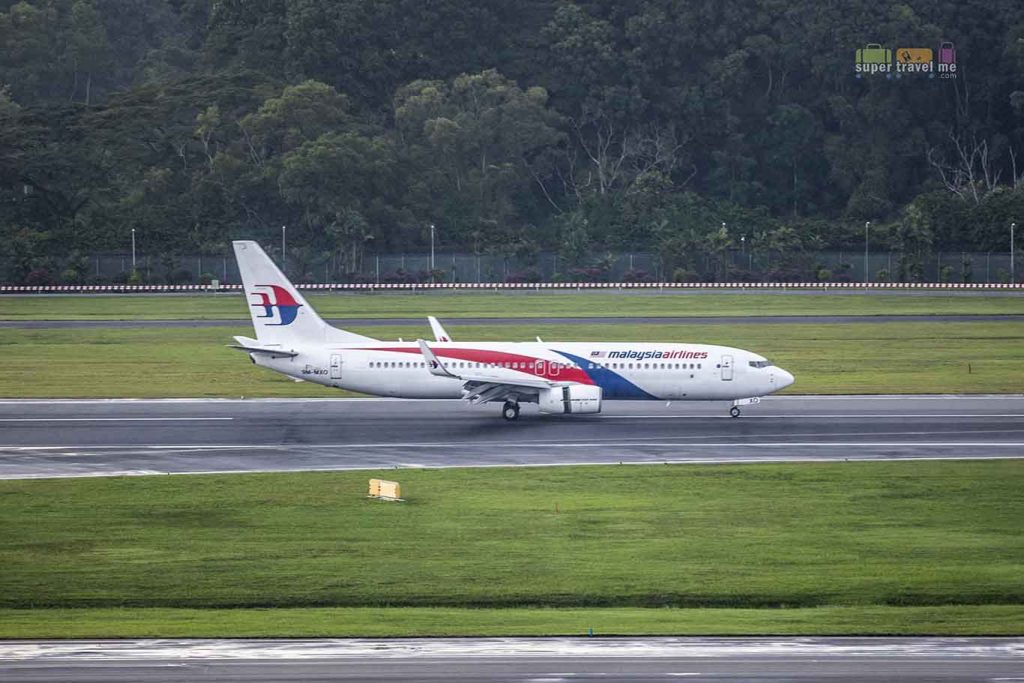 Malaysia Airlines in Changi Airport
