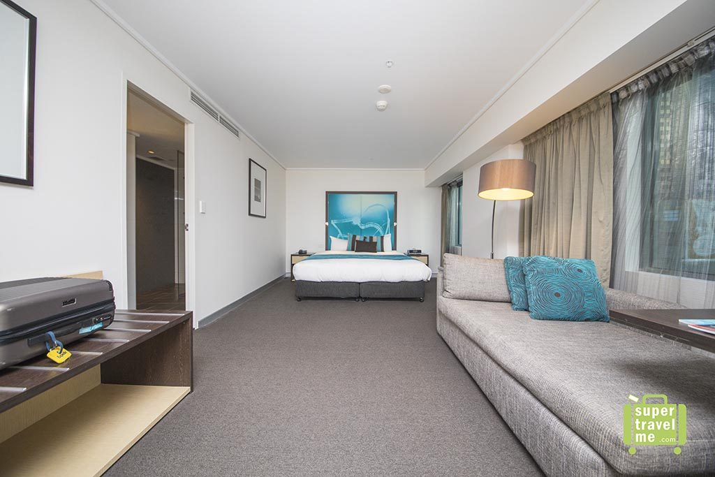 Junior Suite at Novotel Melbourne on Collins