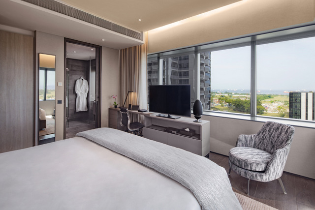 Oakwood Premier OUE Singapore  One Bedroom apartment (Oakwood Premier OUE Singapore photo)