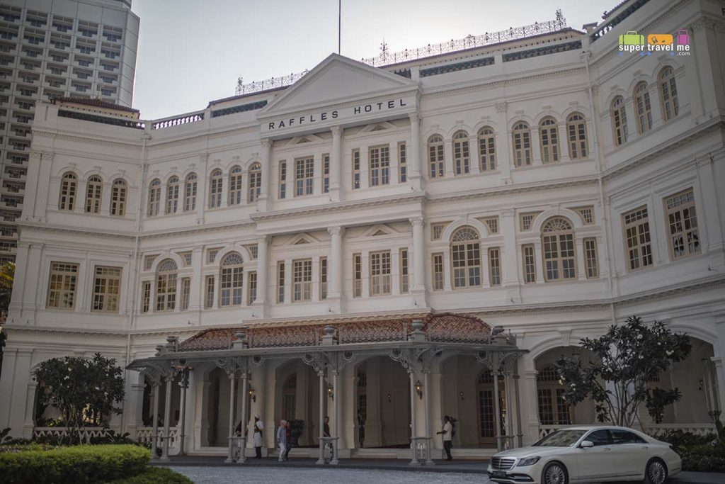 The refurbished Raffles Hotel Singapore opens 1 August 2019