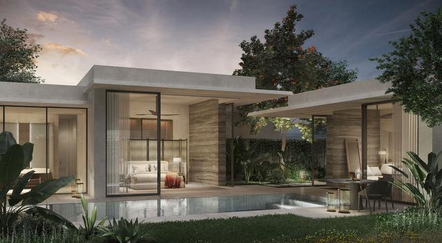 Raffles Hotel Sentosa Island Private Pool Villa (Rendering)