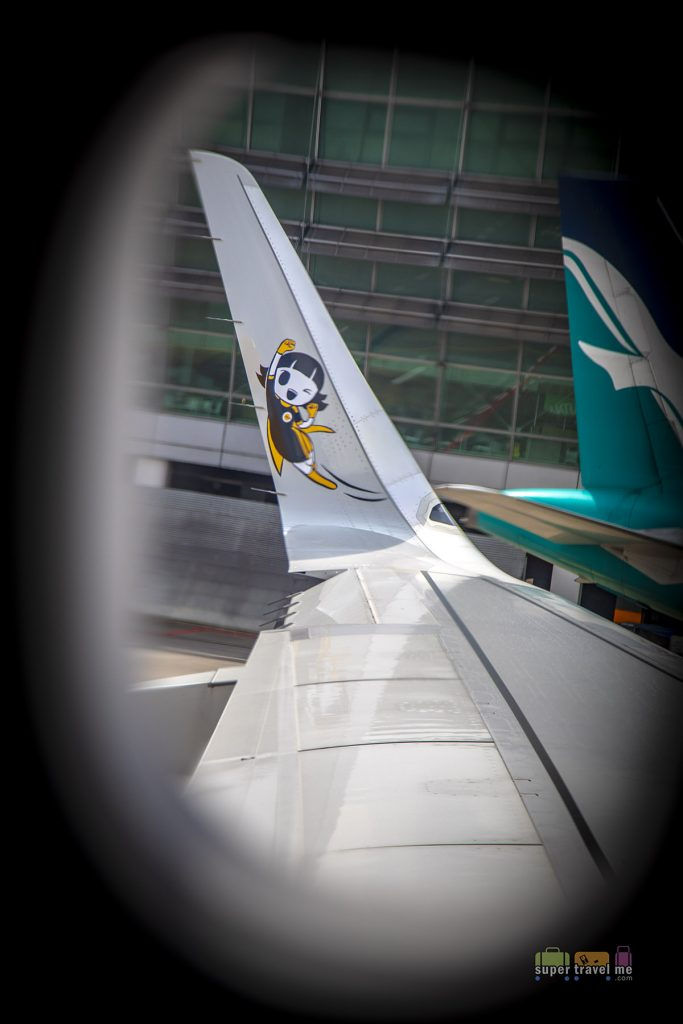 Scoot's A320neo Sharklet