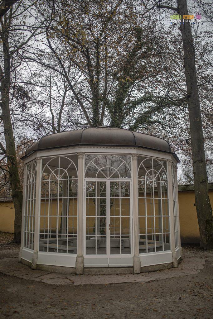Replica of The Gazebo at Schloss Hellbrunn.