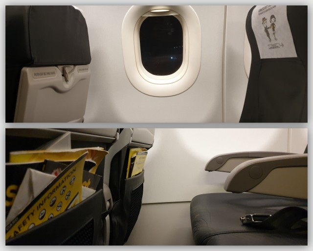 Scoot's A320ceo seats