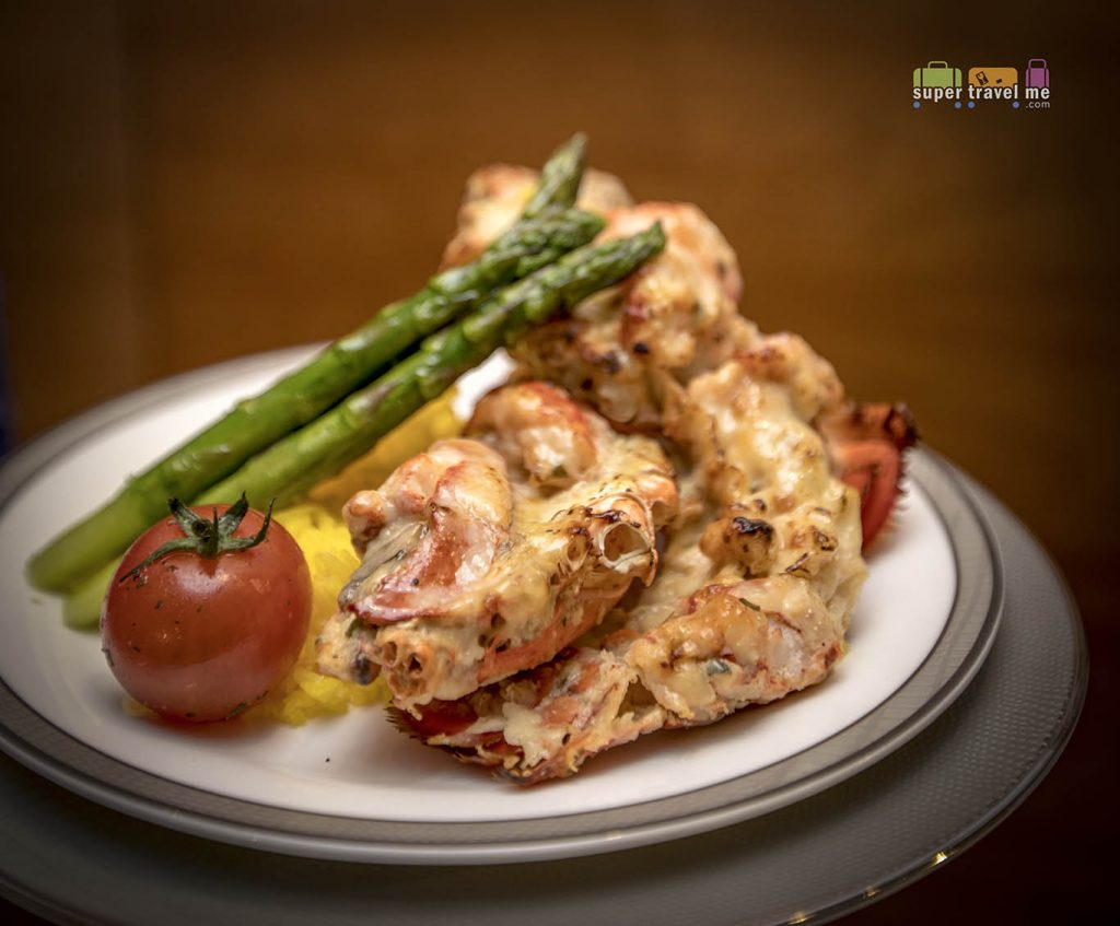 Singapore Airlines Book The Cook - Lobster Thermidor - SIA World Gourmet Forum 2019