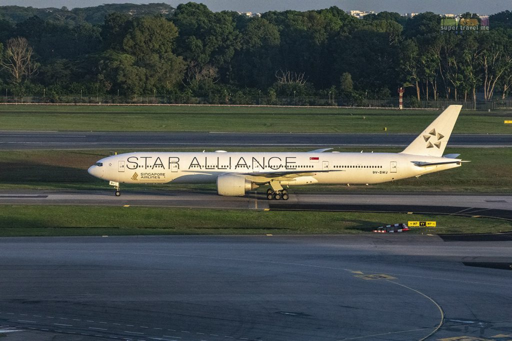Singapore Airlines Star Alliance Livery (9V-SWJ)