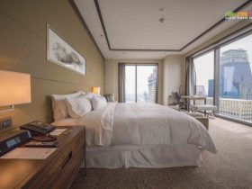 The Heavenly Bed in The Westin Singapore