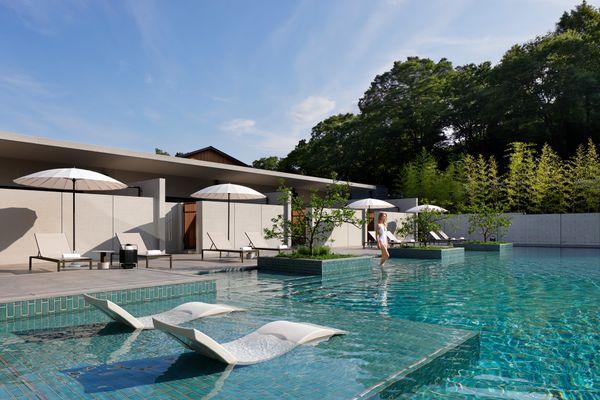 ROKU KYOTO LXR Hotels Resorts Onsen Thermal pool