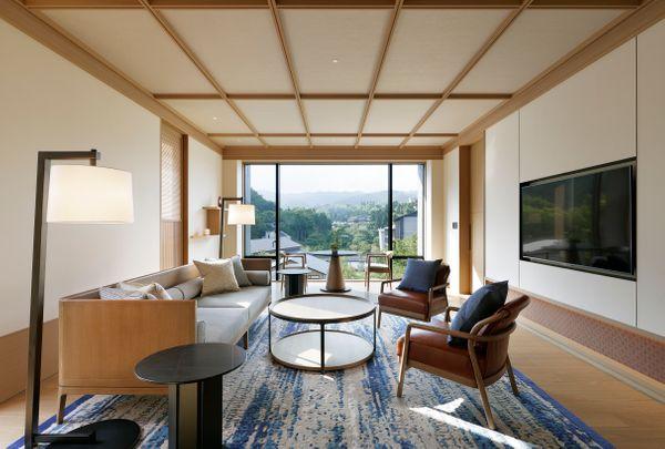 LXR Hotels Resorts ROKU Suite Living Room