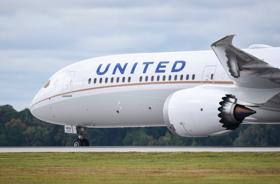 United Airlines took delivery of its first Boeing 787-10 Dreamliner on 5 November 2018