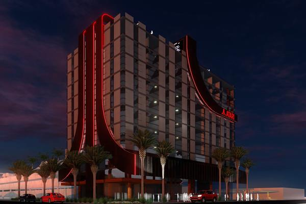 Atari announces World-Class Video-Themed Atari Hotels (Atari Inc rendering)