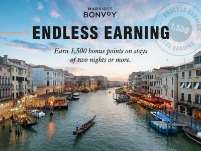 MARRIOTT BONVOY ENDLESS EARNING