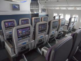 United Premium Plus Cabin (Source: United Airlines)