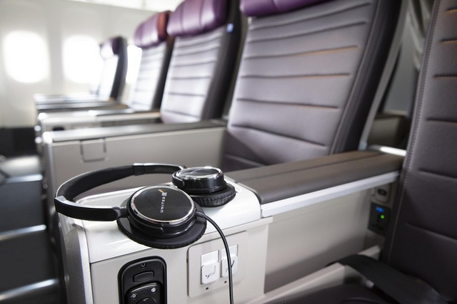 United Premium Plus Cabin (Source: United Airlines)