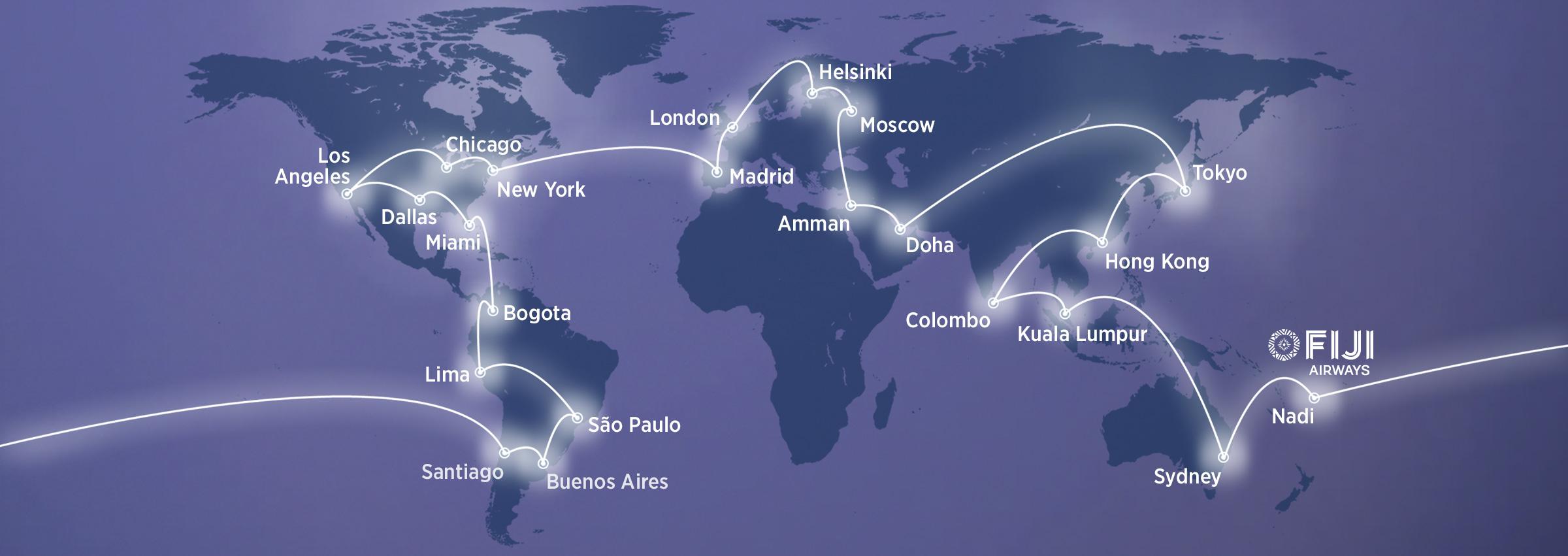 Fiji Airways oneworld connect